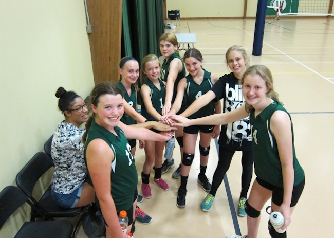 Middle school athletics woodlawn school middle school volleyball ccuart Choice Image